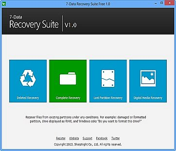 7 Data Recovery Suite