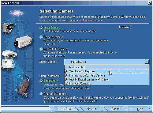 Active Web Cam