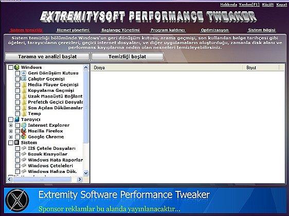 Extremity software indir