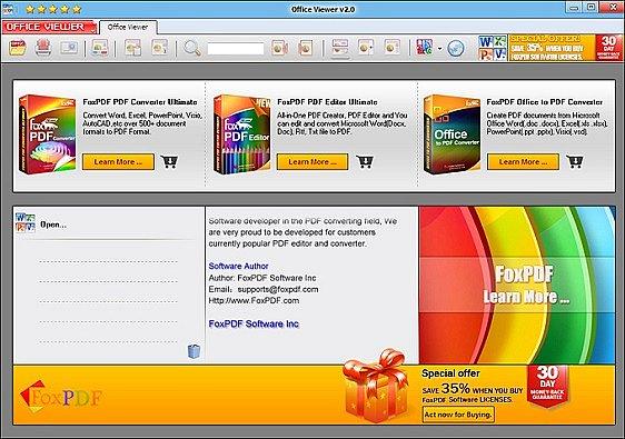 FoxPDF PowerPoint Reader indir