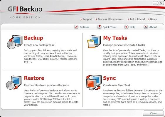 GFI Backup indir