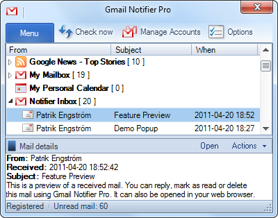 Gmail Notifier indir