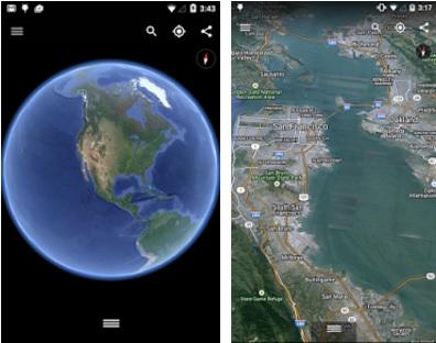 Google Earth Mobil