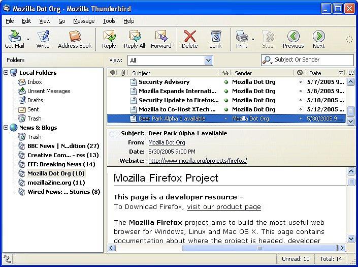 Mozilla Thunderbird indir