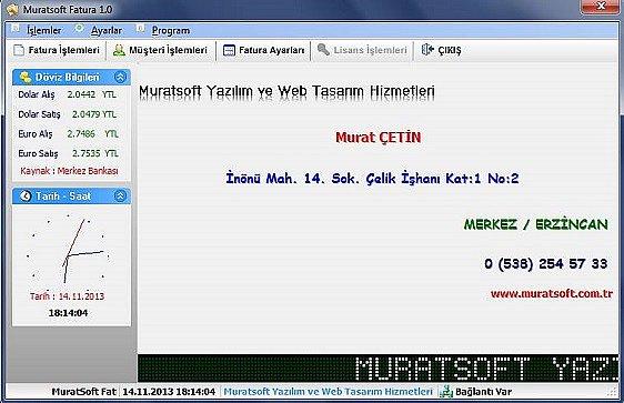 Muratsoft Fatura Programi indir
