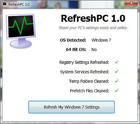 RefreshPC indir