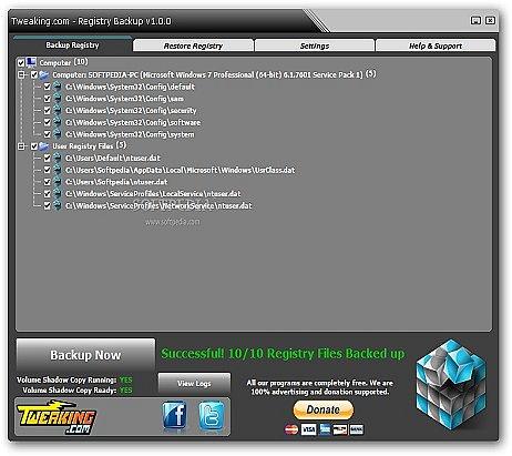 Registry Backup indir