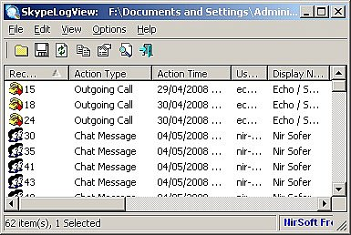 Skype Log Viewer