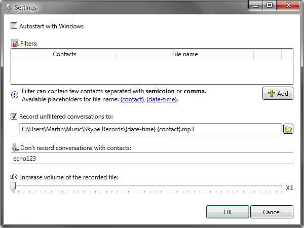 Skype auto recorder indir