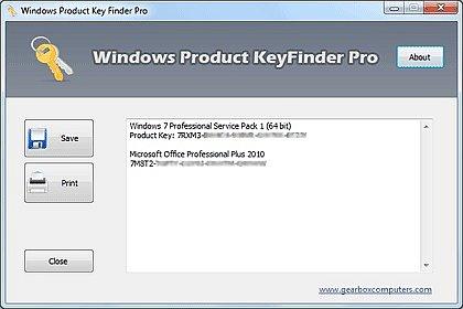 Windows Product Key Finder Pro indir