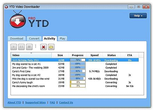 YTD Youtube Downloader indir