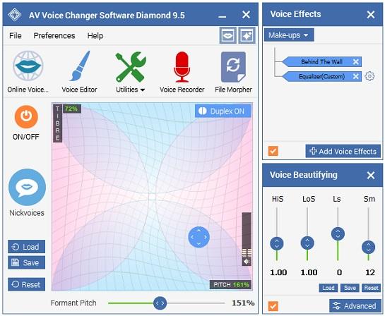 voice changer software diamond inddir